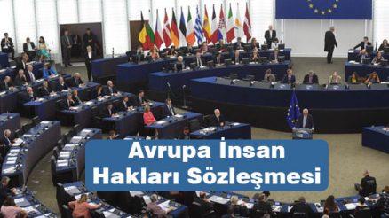 Avrupa İnsan Hakları Sözleşmesi